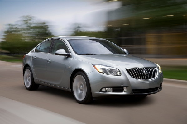 Simply stunning: meet the 2011 Buick Regal