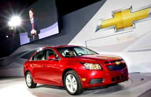 2011 Chevrolet Cruze at the Los Angeles International Auto Show