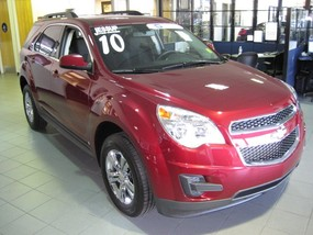 2010 Chevy Equinox at Jessup Auto Plaza