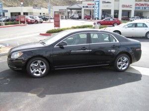 2010 Chevy Malibu at Jessup Auto Plaza