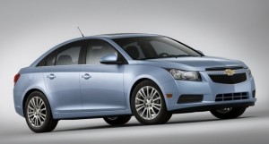 2011 Chevy Cruze Eco: the most fuel-efficient trim