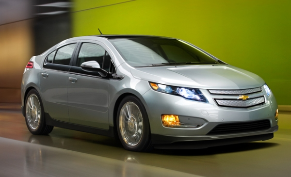 Award-Winning, Head Turning: the Chevrolet Volt!