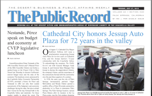 The Public Record features Jessup Auto Plaza
