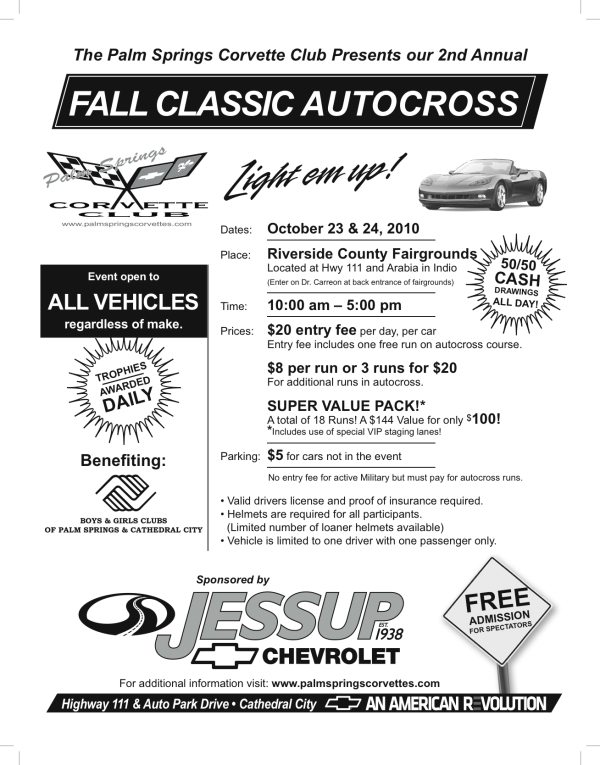 Fall Classic Autocross