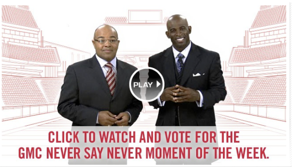 Never Say Never - Click here to vote and enter to win