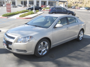 The 2011 Chevrolet Malibu gets 33 mpg on the highway by EPA estimates