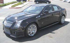 2011 Cadillac CTS-V: Get Fierce.