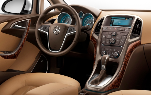Step inside the 2012 Buick Verano