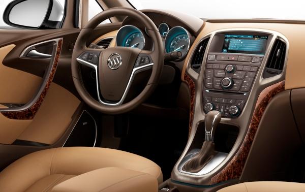 Step inside the 2012 Buick Verano